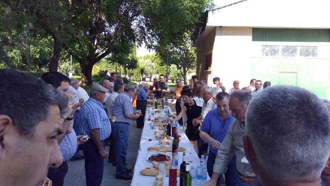 almuerzo fetiche salida en Burgos